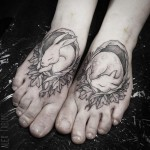 Pretty Foot Tattoos