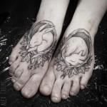 Pretty Foot Tattoos