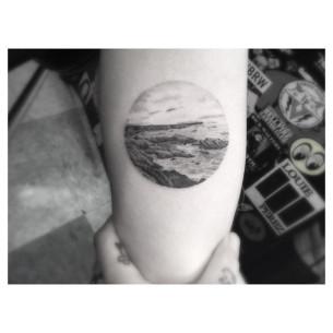 Sea Shore Tattoo