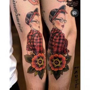 Tattoo Pin Up Girl