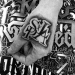 Chicano Hand Tattoo