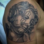 Chicano Religious Tattoo