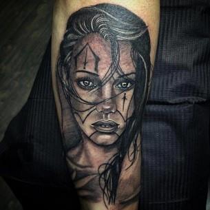 Chicano Tattoo Arm