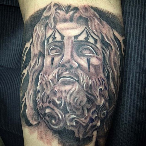 Jesus Drawing Chicano tattoo