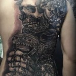 Emperor Skeleton Tattoo