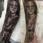 Girl Clown Tattoos