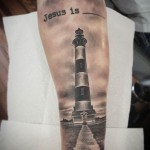 Lighthouse 3D Tattoo