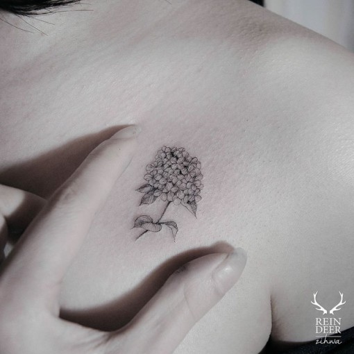 flower of lilac tattoo