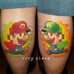 Mario and Luigi Tattoos
