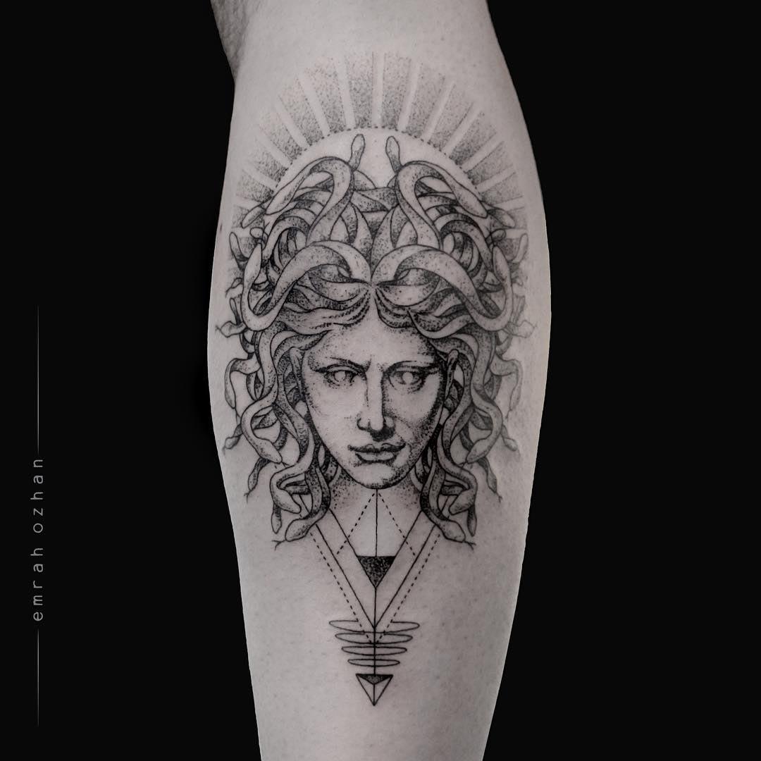 head of medusa tattoo