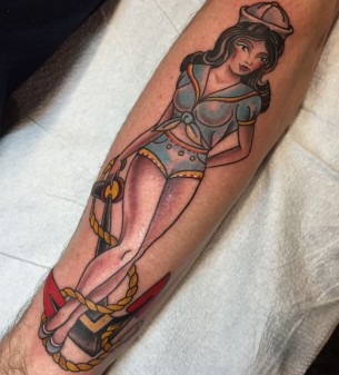 Sailor Girl Tattoo