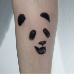 Simple Panda Tattoo