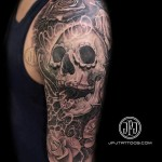 tattoo skull Chicano