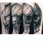 Skull Tattoo Forearm
