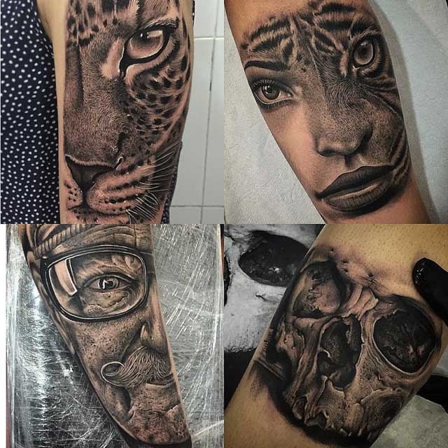 hyper-realistic tattoo designs