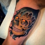 Tattoo Skull Arm