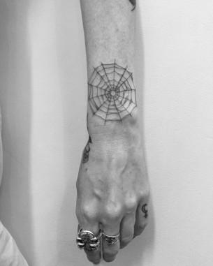 Tattoo Spider Web