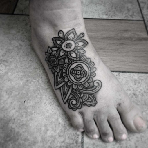 top of foot tattoo best tattoo ideas gallery. Black Bedroom Furniture Sets. Home Design Ideas