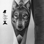 Wolf Tattoo Design
