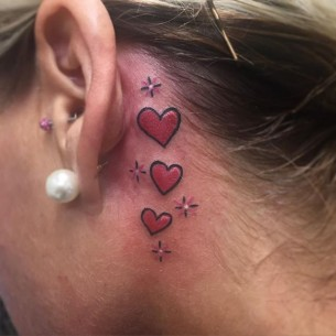 3 Hearts Tattoo