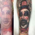 American Clown Tattoo Cover Up