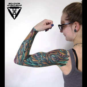 Bio Sleeve Tattoo