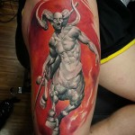Centaur Tattoo Warrior