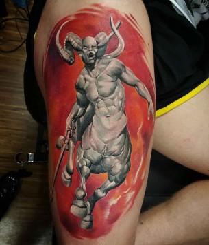 Centaur Tattoo Warrior