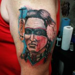 Choctaw Warrior Tattoo