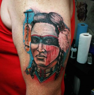 Indian tattoos best tattoo ideas gallery for Choctaw indian tattoos
