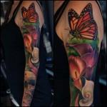 tattoo sleeve colorful