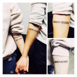 Couple Date Tattoos