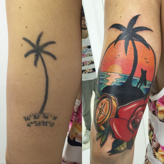 Cover Up Tattoo Arm