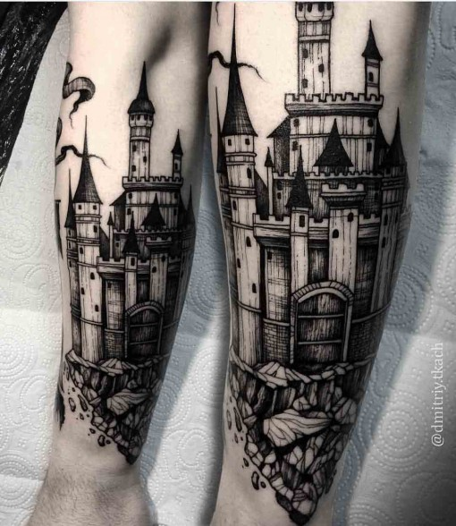 dark castle tattoo best tattoo ideas gallery