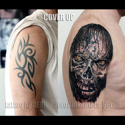 Dark Tattoo Cover Up