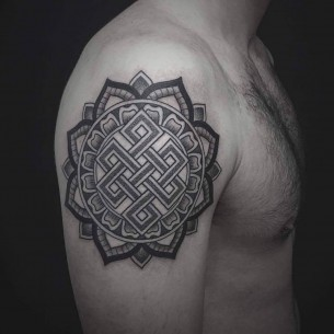 Endless Knot Tattoo