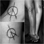 Ethernal Peace and Love Tattoos
