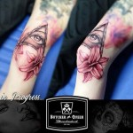 Girly Eye of Providence Tattoo
