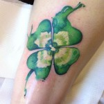 Four Leaf Clover Tattoos