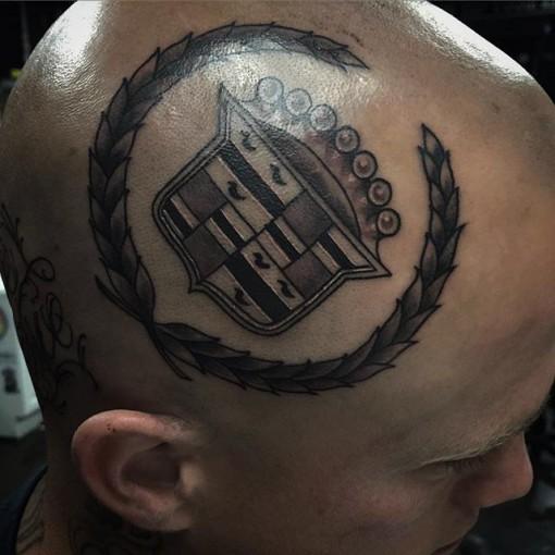 Head Tattoo Emblem