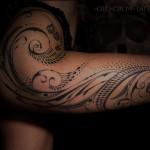 Hip Tattoo Girl
