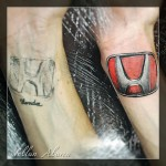 Honda Tattoo Cover Up