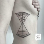 Hourglass Tattoo Design