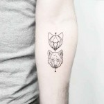 How to Draw a Wolf Tattoo