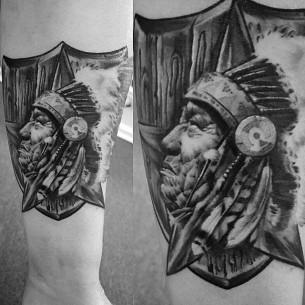 Indian Arm Tattoo