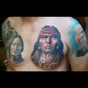 Indian Man Tattoo