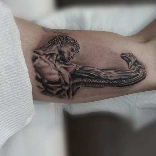 Inner Bicep Tattoo Men Best Tattoo Ideas Gallery