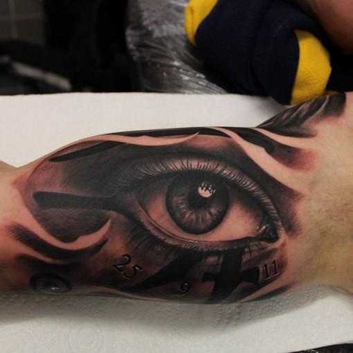 Inside Bicep Tattoo
