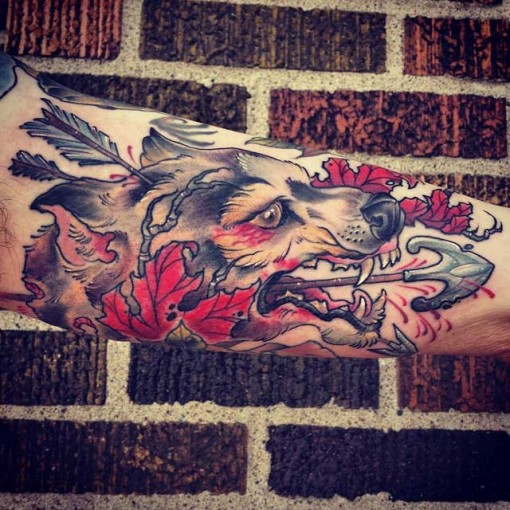 Inside of Bicep Tattoo