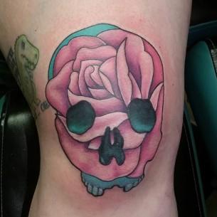 Japanese Knee Tattoos